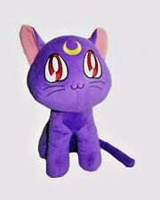 "US Seller-Sailor Moon Purple Cat Japanese Anime 6"" Plush #nv-purple"