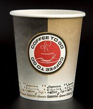 100 Hartpapier Coffee to go Becher 0,2 l Kaffeebecher Coffeebecher Pappbecher
