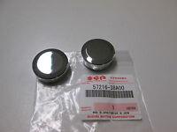 Lenkerende Kappe Chrom Lenker Deckel cap grip end Suzuki VS 750 Intruder 85-91