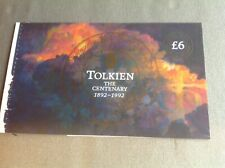 Prestige Booklet DX14 Tolkien - pages only, no stamps. thematic 'Literature'