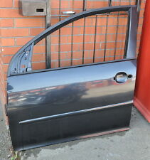 VW GOLF MK5 NSF LEFT PASSENGER FRONT DOOR SHELL IN UNITED BLACK CODE LC9Z