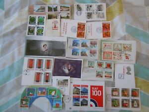 # NEW # Gibraltar 55gms on paper modern kiloware (to 2018)- stamps from FDC's
