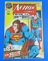ACTION COMICS #400 COMIC BOOK ~ SUPERMAN DC BRONZE AGE 1971 ~ FN