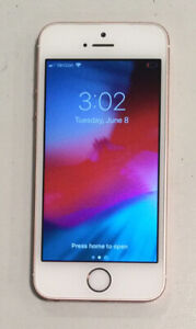 TESTED ROSE GOLD GSM UNLOCKED APPLE iPhone SE, 1ST GEN 64GB A1662 MLY82LL/A L10A