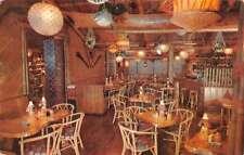 Denver Colorado Outrigger Bar Interior Vintage Postcard K38138