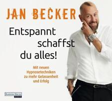 A Becker Jan Entspannt schaffst Du alles CD HörBuch NEU neue Mentaltechniken