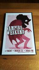 Vampire Weekend Doug Fir Hb Poster 11X17 w/plastic frame