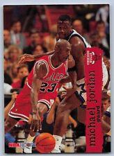 1995-96  MICHAEL JORDAN - Hoops Basketball Card # 21 - CHICAGO BULLS