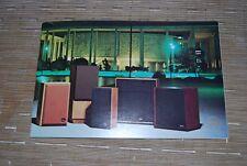 ALTEC Lansing Speaker A7 A8 A9 Valencia Barcelona Santiago Santana Catalogue