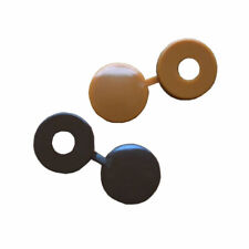 Grande Plástico Tapa Abatible (Elegir Color Y Cantidad) Para M4.5, M5 Tornillos