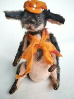 Teddy dog Enry OOAK Artist Teddy by Voitenko Svitlana.