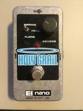 Electro Harmonix Holy Grail Nano Reverb Fx Guitar Effect Pedal