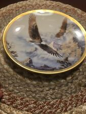 1993 Lenox Decorative Plate – Soaring the Peaks by Kelley C-3700