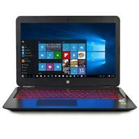 """HP Omen 15.6"""" FHD 1080p Gaming Laptop Core i7-7700HQ 2.8GHz 8GB 1TB GTX1050 W10H"""