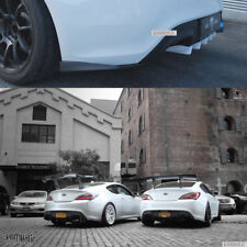 M&S Rear Mini Diffuser + Rear Lip (2pcs) SET for Hyundai Genesis Coupe 2009+