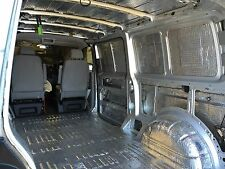 VW T5 Insulation and Soundproofing stage 1