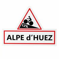 NEW TOUR DE FRANCE ROAD SIGN - ALPE D'HUEZ - CYCLING CYCLE NOVELTY GIFT