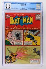 Batman #98 - DC 1956 CGC 8.5 Jules Verne & Vicki Vale App! 1st Arnold Drake!