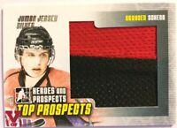 2009-10 ITG Heroes & Prospects Jumbo Jersey Silver Brayden Schenn Vault Pink 1/1