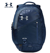 Under Armour UA Hustle 4.0 Backpack Academy Blue Navy Laptop School 1342651 408
