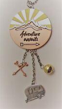 d Adventure awaits Wanderlust Car Charm Mirror Ornament Ganz