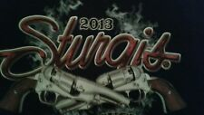 Sturgis 2013 Motorcycle Rally Bike Week  T Shirt Medium New with Holographic Tag