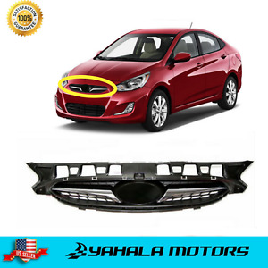 Front Radiator Grille Bumper Upper Grill for 2011-2017 Hyundai Accent ⭐⭐⭐⭐⭐