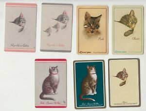 C98 Vintage Swap Cards series of cats from chessie peake railway  ADS
