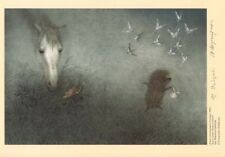 Hedgehog in the Fog Norstein's hand-signed high quality print (Horse & Moth)