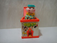 Vintage 1970 Fisher Price Jack in the Box Puppet #138