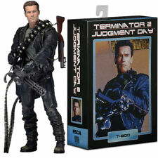 "Terminator 2 Judgment Day Series T-800 7"" PVC Action Figure Collection Toy"