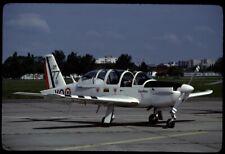 Aircraftslide / Flugzeugdia French Air Force Socata TB 30 Epsilon 77
