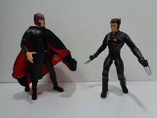 "ToyBiz MAGNETO & WOLVERINE X-Men The Movie - 6"" Action Figure Lot"