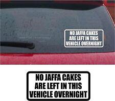 No Jaffa en Vehículo durante la noche gracioso coche /Furgoneta/ Parachoques/