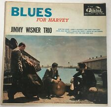 "Jimmy Wisner Trio LP ""Blues For Harvey'  ~ Felsted  ~ Deep Groove ~ Jazz ~RARE"