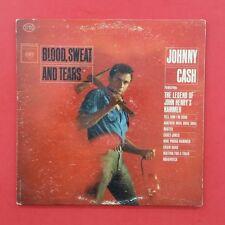 JOHNNY CASH Blood, Sweat & Tears LP Vinyl VG Columbia CS 8730 2I