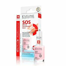 NEW Eveline Nail Therapy Professional SOS Treatment Britle & Broken Nails 12 ml