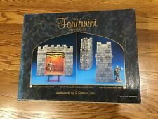 Fontanini City Towers with Ladder 94806 Nib Retired