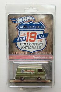 2019 Hot Wheels 19th Nationals Convention '66 Dodge A100 ~ Free Shipping!