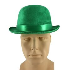 Derby Hat Green Costume Bowler Riddler Irish Hat