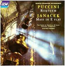 PUCCINI / JANACEK Requiem / Mass in E Flat CD Gonville & Caius College Choir