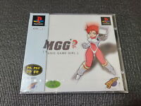Sony Playstation PS1 Manic Game Girl Factory Sealed Korean Version CD Super Rare