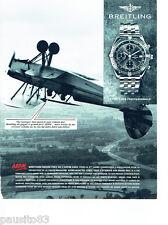 PUBLICITE ADVERTISING 096  1994  Breiting montre grand prix A.P.P.M 1992