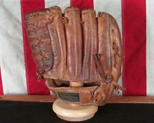 Vintage 1960s Ted Williams Leather Baseball Glove Fielders Mitt Autograph Model