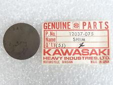 Kawasaki NOS NEW  12037-075 Tappet Shim 3.4T KZ KZ750 LTD CSR 1976-84