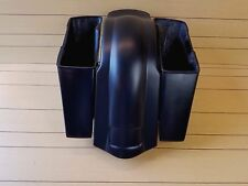 "HARLEY DAVIDSON 4""STRETCHED SADDLEBAGS NO CUT OUTS AND REAR FENDER TOURING 96-13"