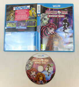 MONSTER HIGH NEW GHOUL IN SCHOOL GAME NINTENDO WII U - VGC, TESTED & WORKING