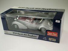 Sun Star 1939 Horch 855 Roadster - silver/purple 2402 1/18