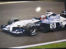 Photo HP Williams BMW F1 FW24 2002 #6 Juan Pablo Montoya (COL) Spa #3