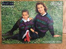 """Hayfield Knitting Pattern: Family Fairisle Sweater, DK, 24-44"""", 00268"""